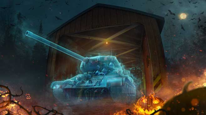 World of Tanks Halloween