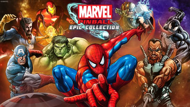 Marvel Pinball Epic Collection Vol. 1 Principal