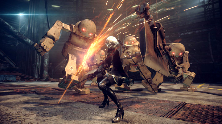 nier automata preview