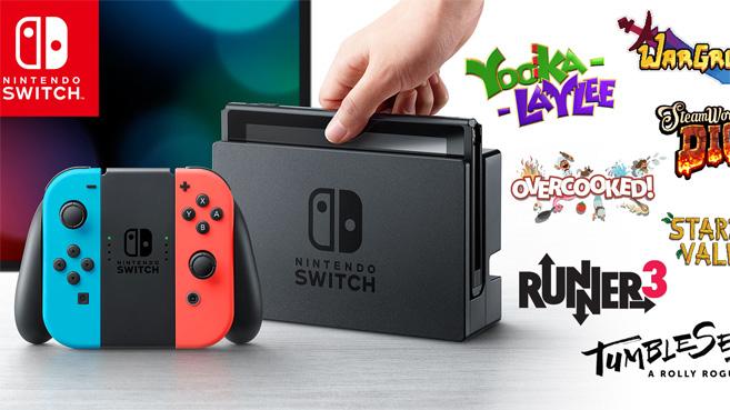Mas De 60 Juegos Indie Anunciados Para Nintendo Switch En 2017