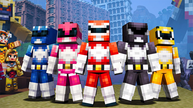 Power Ranger Minecraft