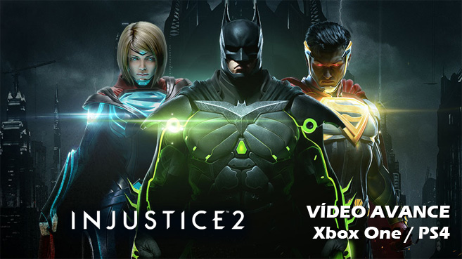 Injustice 2 vídeo avance