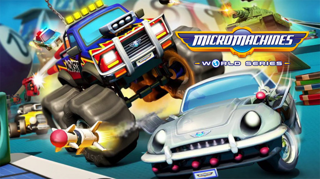 Micro Machines World Series principal