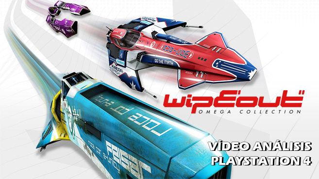 Cartel WipEout Omega Collection