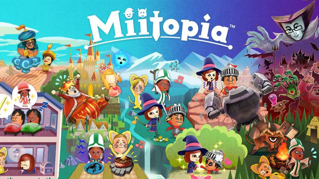 Cartel Miitopia Interior