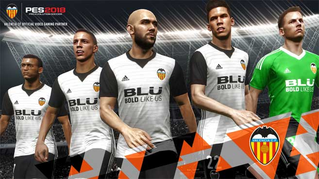 KONAMI gaming Partner Valencia CF