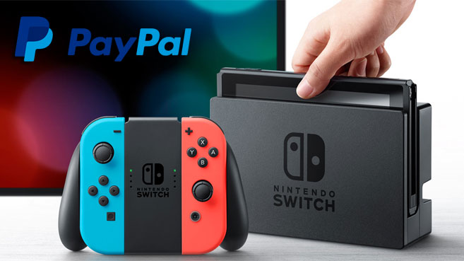 Nintendo Switch Pay Pal