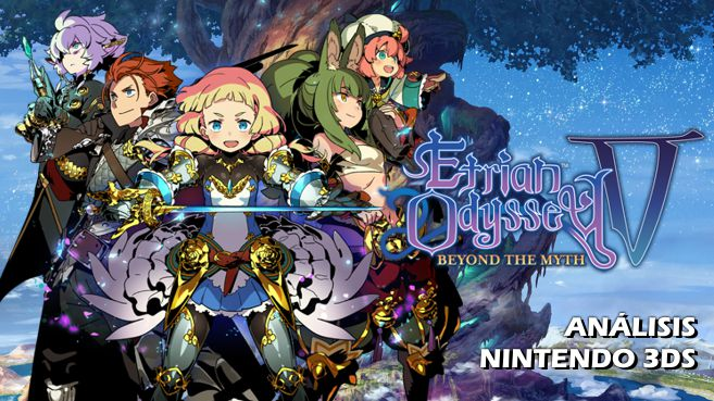 Cartel Etrian Odyssey V Beyond the Myth