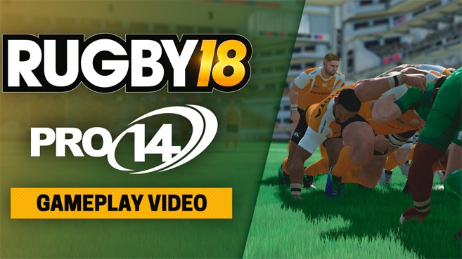 RUGBY 18 gameplay