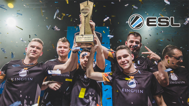 Team Kinguin ESL Clash of Nations by Movistar