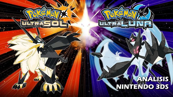 Cartel Pokémon Ultrasol y Pokémon Ultraluna
