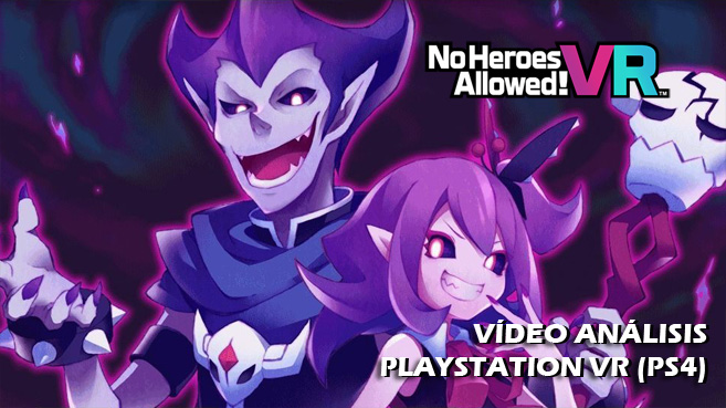 No Heroes Allowed! VR principal