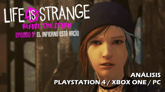 Cartel Life is Strange Before the Storm Episodio 3