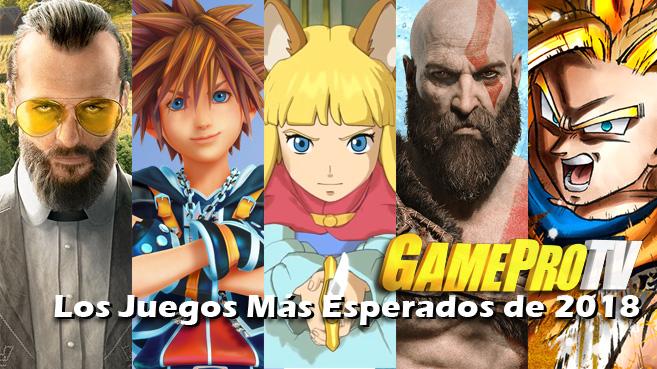 Los Juegos Mas Esperados De 2018 En Gameprotv Actualidad Gameprotv