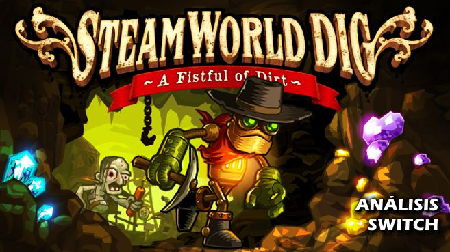 Cartel SteamWorld Dig A Fistful of Dirt