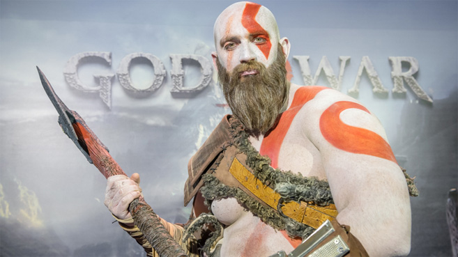 Presentación Madrid God of War