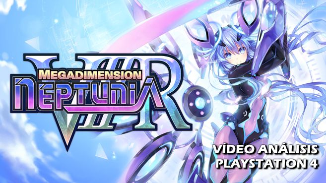 Cartel Megadimension Neptunia VIIR