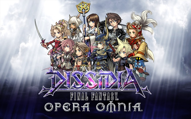 Dissidia Final Fantasy Opera Omnia art