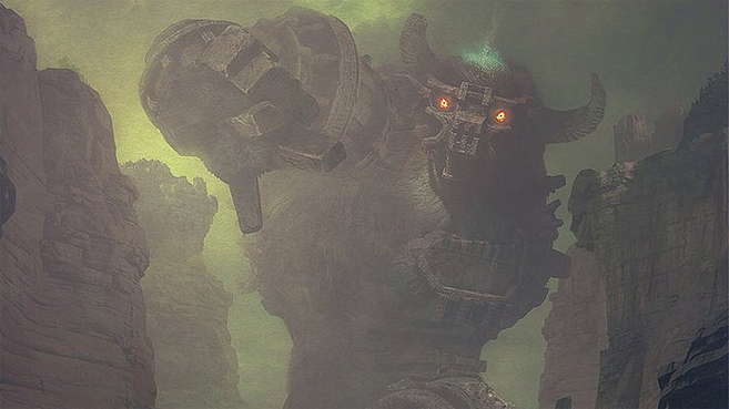 Shadow of the Colossus art