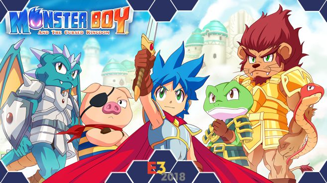 Monster Boy and The Cursed Kingdom E3 Principal