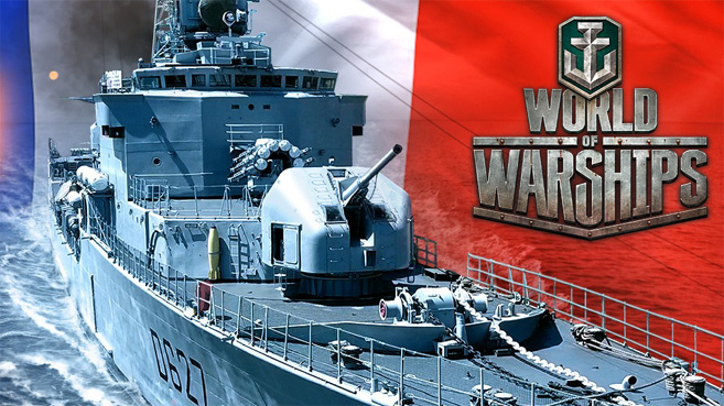 World of Warships Maillé-Brézé