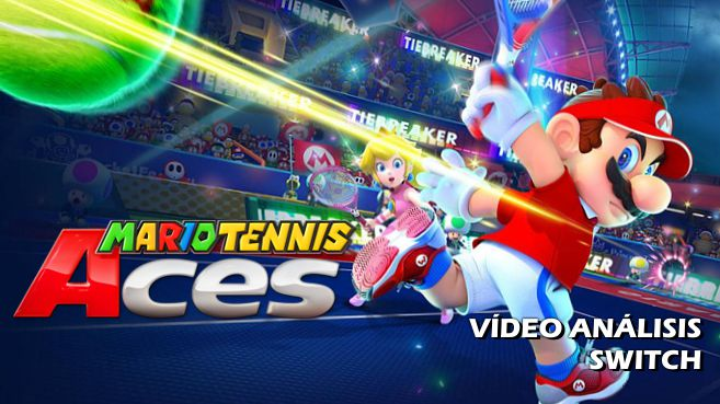 Cartel Mario Tennis Aces