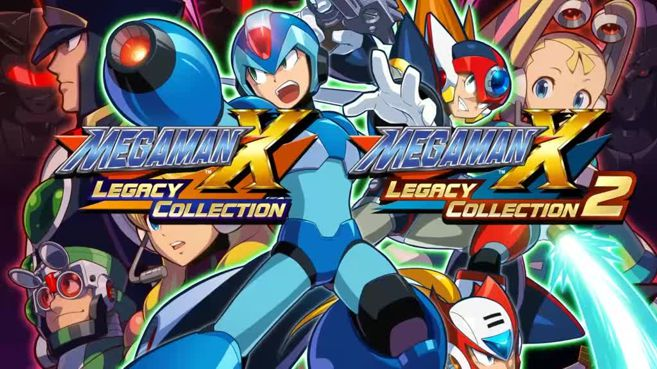 Megaman X Legacy Collection 1 y 2 Principal