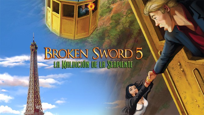 Broken Sword 5 la Maldición de la Serpiente Switch