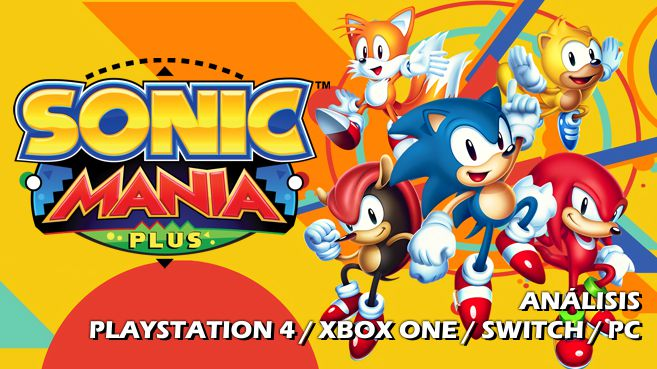 Cartel Sonic Mania Plus