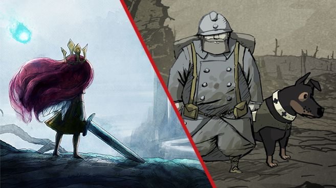 Child of Light y Valiant Hearts Principal