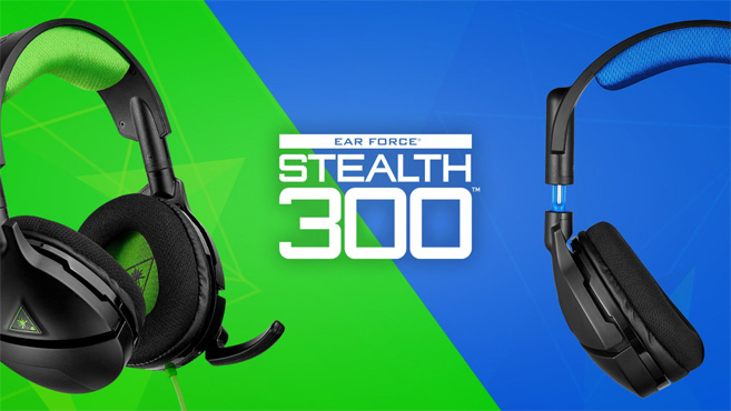 Stealth 300 PS4  Xbox One Turtle Beach