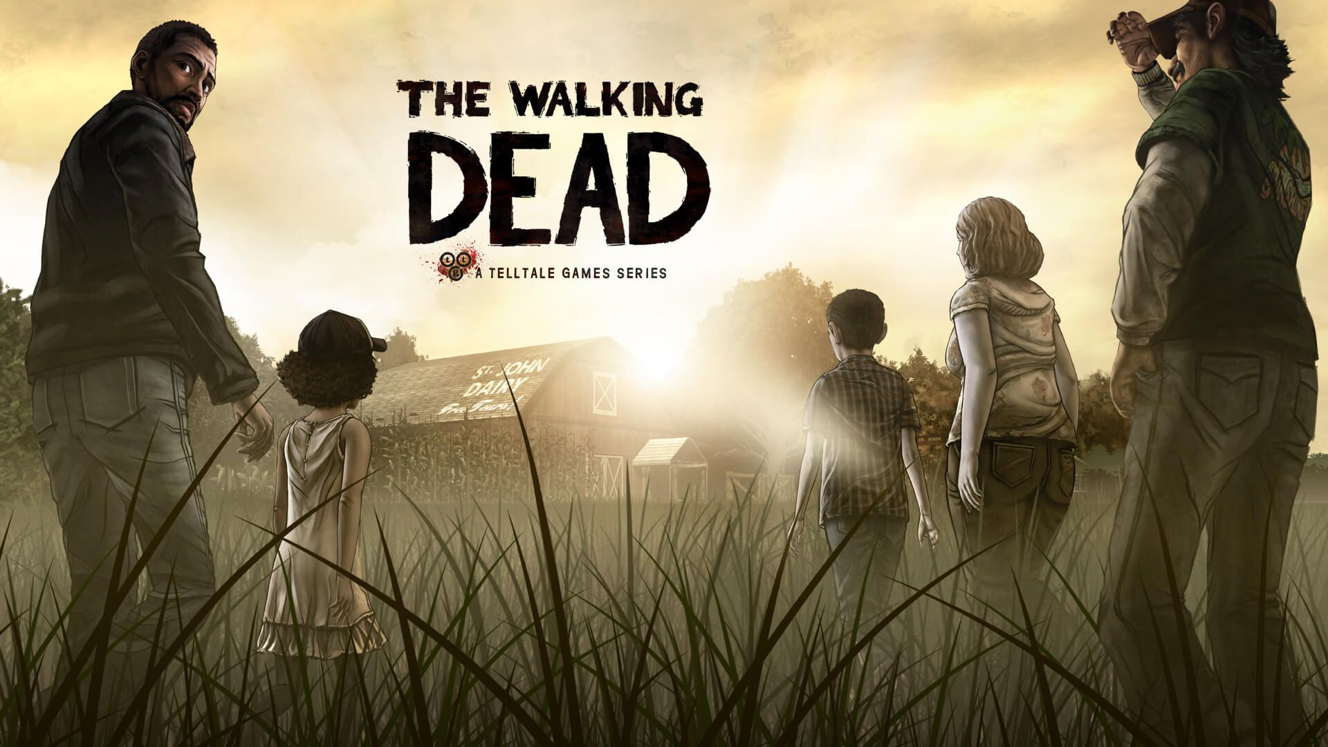 The Walking Dead The Complete First Season Principal