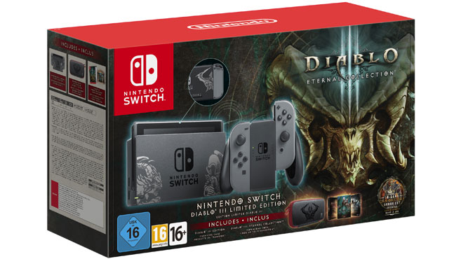Bundle de Diablo III Eternal Collection Switch
