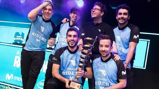 Movistar Riders campeón ESL Masters Rainbow Six