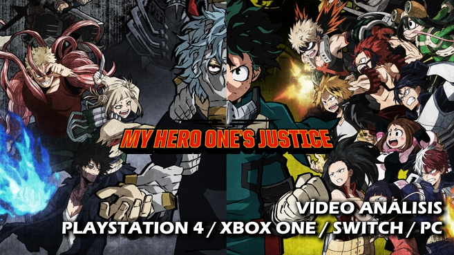 Vídeo análisis de My Hero One´s Justice
