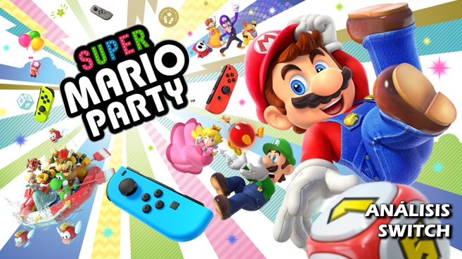 Análisis de Super Mario Party