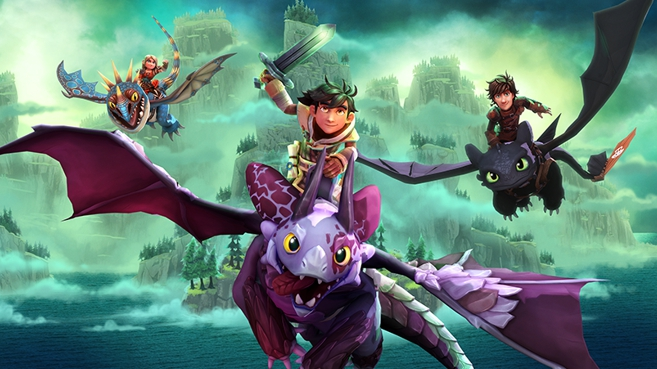 DreamWorks Dragons Dawn of New Riders Principal