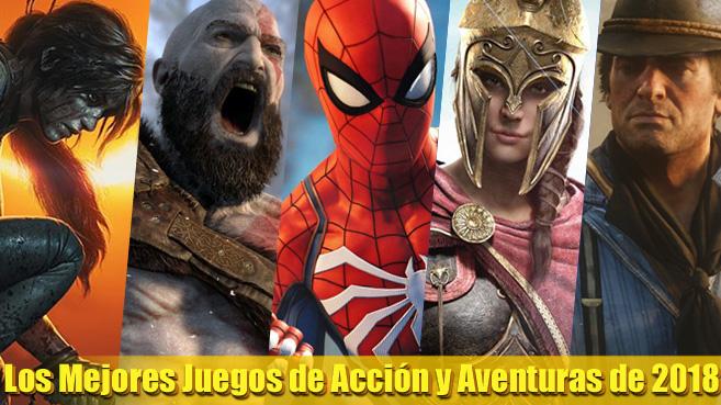 Los Mejores Videojuegos De Accion Y Aventuras De 2018 Actualidad