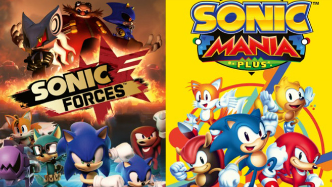 Pack doble Sonic Manía Plus y Sonic Forces