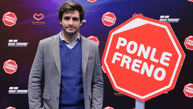PlayStation Ponle Freno Carlos Sainz
