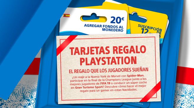 Tarjetas regalo PlayStation