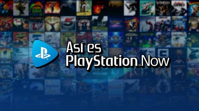Cartel Así es PlayStation Now