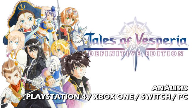 Cartel Tales of Vesperia Definitive Edition