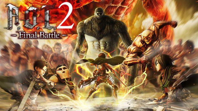 Resultado de imagen de AOT2 Final Battle