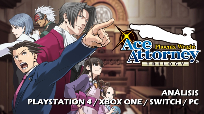 Cartel Phoenix Wright Ace Attorney Trilogy