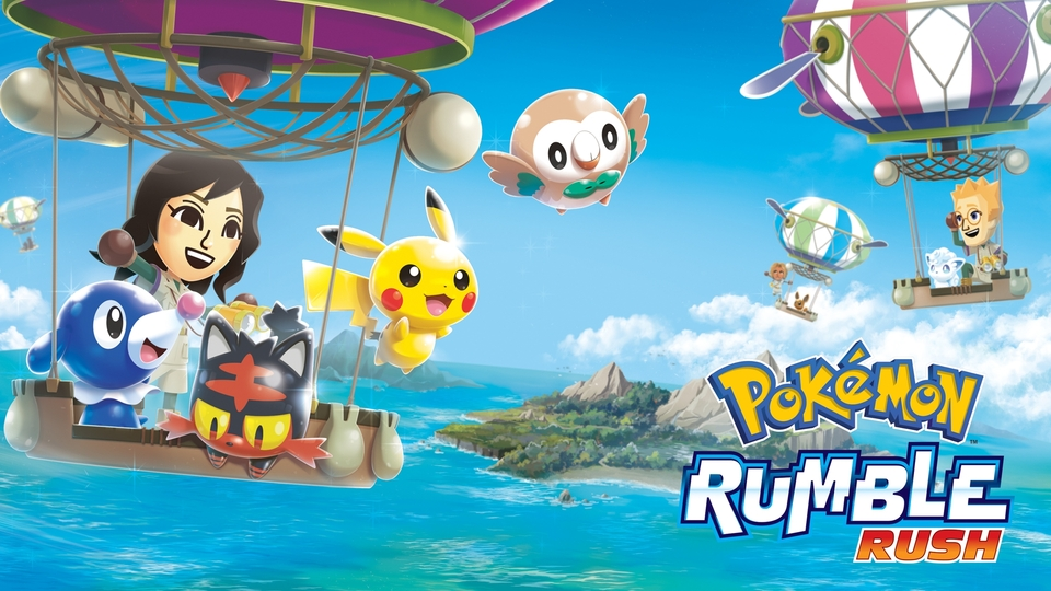 Pokémon Rumble Rush Principal