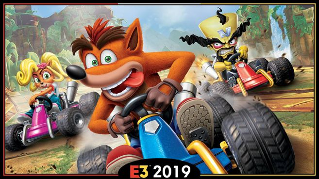 Crash Team Racing Nitro-Fueled E3 2019