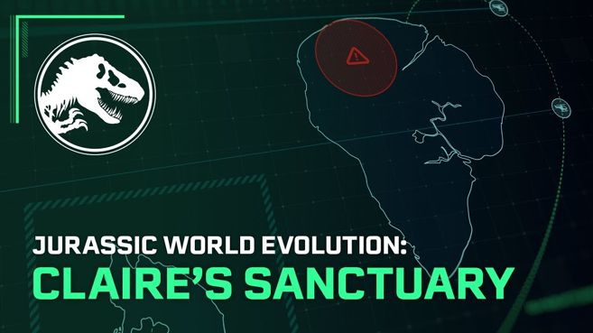 Jurassic World Evolution El Santuario de Claire