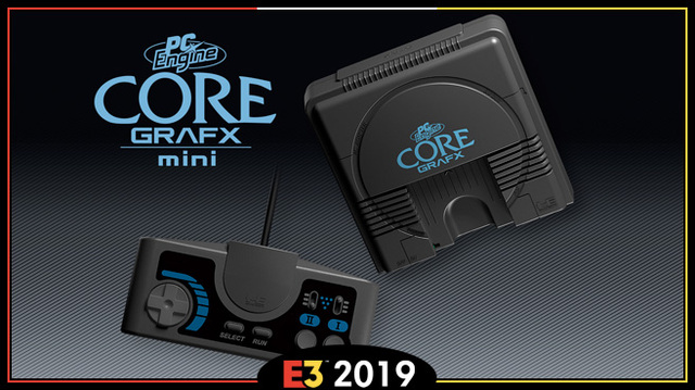 PC Engine Core Grafx Mini Konami E3 2019