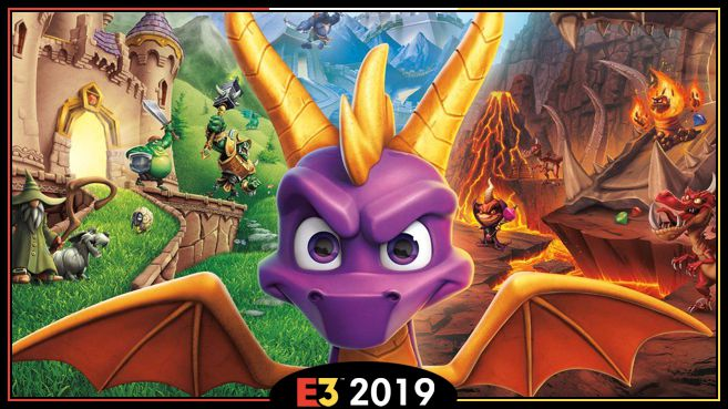 Spyro Reignited Trilogy E3 2019